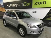 2011 VOLKSWAGEN TIGUAN 2.0 MATCH TDI BLUEMOTION TECHNOLOGY 5d 138 BHP £9295.00