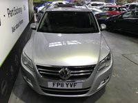 USED 2011 11 VOLKSWAGEN TIGUAN 2.0 MATCH TDI BLUEMOTION TECHNOLOGY 5d 138 BHP