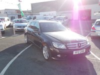 2010 MERCEDES-BENZ C CLASS 1.8 C180 CGI BLUEEFFICIENCY SPORT 5d AUTO 156 BHP £7495.00