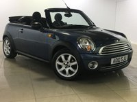 USED 2010 10 MINI CONVERTIBLE 1.6 ONE 2d 98 BHP Great Car