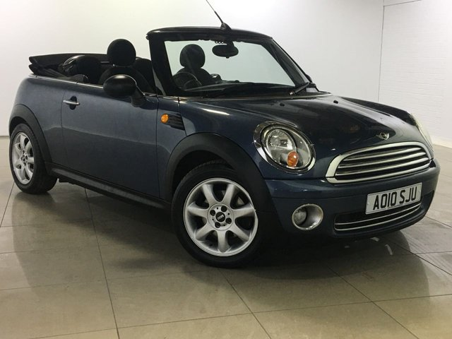 View our 2010 10 MINI CONVERTIBLE 1.6 ONE 2d 98 BHP
