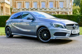 2015 MERCEDES-BENZ A CLASS 2.1 A200 CDI AMG NIGHT EDITION 5d AUTO 134 BHP £17990.00