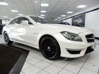 USED 2011 11 MERCEDES-BENZ CLS CLASS 5.5 CLS63 AMG AUTO 20'S DYNAMIC SEATS H/K REV CAM