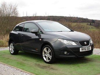 2011 SEAT IBIZA 1.4 SE COPA 3d 85 BHP £4600.00