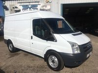 2008 FORD TRANSIT 2.2 MWB MEDIUM ROOF 110BHP T350 FSH  £4995.00