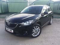 USED 2014 14 MAZDA CX-5 2.2 D SPORT NAV 5d 173 BHP 4WD SAT NAV LEATHER PRIVACY ONE OWNER FSH NO FINANCE REPAYMENTS FOR 2 MONTHS STC. 4WD. SATELLITE NAVIGATION. STUNNING BLACK WITH FULL BLACK LEATHER TRIM. ELECTRIC HEATED SEATS. CRUISE CONTROL. 19 INCH ALLOYS. COLOUR CODED TRIMS. PRIVACY GLASS. PARKING SENSORS. REVERSING CAMERA. BLUETOOTH PREP. AIR CON. R/CD PLAYER. 6 SPEED MANUAL. MFSW. MOT 03/19. ONE OWNER FROM NEW. FULL SERVICE HISTORY. FCA FINANCE APPROVED DEALER. TEL 01937 849492