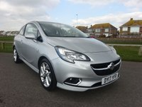 2017 VAUXHALL CORSA 1.4 SRI VX-LINE S/S 3d 99 BHP SILVER 1 OWNER £9595.00