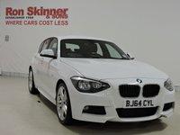 USED 2014 64 BMW 1 SERIES 2.0 118D M SPORT 5d 141 BHP
