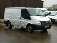 2013 FORD TRANSIT 2.2TDCi  T250 SWB 100 BHP * 5 Services * £6295.00