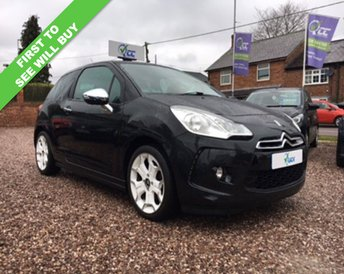 2010 CITROEN DS3 1.6 BLACK AND WHITE 3d 120 BHP £6695.00
