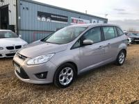 2013 FORD GRAND C-MAX 1.6 TDCi Zetec MPV 5dr Diesel Manual (7 Seats) (129 g/km, 113 bhp) £7490.00