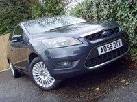 2008 FORD FOCUS 1.6 TITANIUM 3d 100 BHP £4499.00
