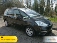 "USED 2013 13 CITROEN C4 GRAND PICASSO 1.6 PLATINUM EGS E-HDI 5d AUTO 110 BHP Fantastic Spec One Lady Owned Automatic Grand C4 Picasso with Glass Panoramic Roof, Climate Control, Cruise Control, 17"" Alloy Wheels and Citroen Service History"