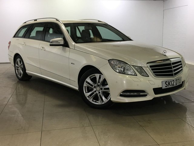 View our 2012 12 MERCEDES-BENZ E CLASS 2.1 E220 CDI BLUEEFFICIENCY EXECUTIVE SE 5d AUTO 170 BHP