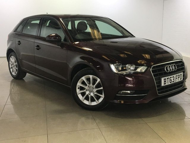 View our 2014 63 AUDI A3 1.6 TDI SE 5d AUTO 104 BHP