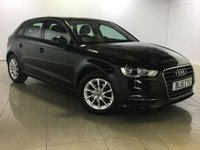 USED 2015 15 AUDI A3 1.6 TDI SE 5d AUTO 109 BHP 1 Owner/Bluetooth/DAB Radio