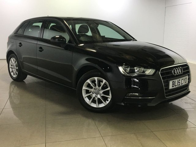 View our 2015 15 AUDI A3 1.6 TDI SE 5d AUTO 109 BHP