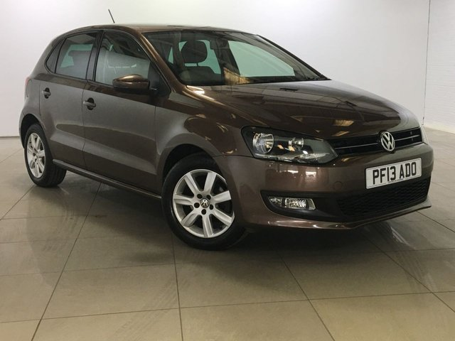 View our 2013 13 VOLKSWAGEN POLO 1.2 MATCH EDITION 5d 59 BHP