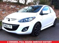 USED 2013 62 MAZDA 2 1.5 SPORT 3d 101 BHP 2 OWNERS, FULL MAZDA SERVICE HISTORY, MOT JAN 19, EXCELLENT CONDITION, ALLOYS, CLIMATE, CRUISE,  E/WINDOWS, R/LOCKING, FREE  WARRANTY, FINANCE AVAILABLE, HPI CLEAR, PART EXCHANGE WELCOME,