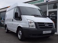 2011 FORD TRANSIT 2.2 280 SHB SEMI HIGH ROOF  85 BHP BOLT RACKING SYSTEM  £6990.00