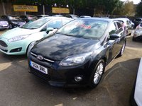 USED 2014 14 FORD FOCUS 1.0 ZETEC ECOBOOST 125 BHP THIS VEHICLE IS AT SITE 1 - TO VIEW CALL US ON 01903 892224