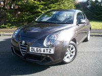 USED 2015 65 ALFA ROMEO MITO 1.4 8V PROGRESSION 3d 78 BHP Beautiful Example, JUST 20,000 Miles From New with Full Service History. Fabulous Stylish Looking Car