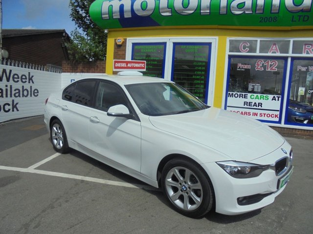 USED 2014 14 BMW 3 SERIES 2.0 316D ES 4d AUTO 114 BHP call 01543 379066 ***AUTOMATIC DIESEL...£30 A YEAR ROAD TAX***