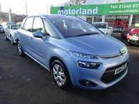 USED 2014 14 CITROEN C4 PICASSO 1.6 HDI VTR PLUS 5d 91 BHP ***ONLY £20 A YEAR ROAD TAX***