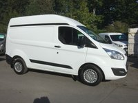 2014 FORD TRANSIT CUSTOM 2.2 290 TREND 100 BHP 6 SPEED £11250.00