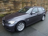 USED 2007 07 BMW 3 SERIES 2.0 320D SE TOURING 5d 161 BHP