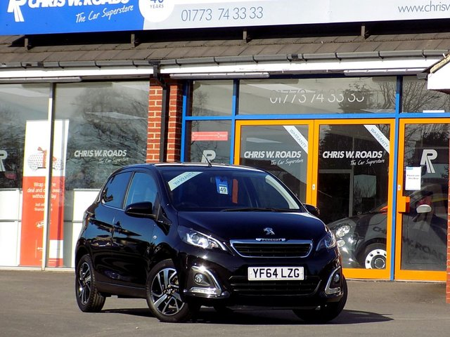 USED 2014 64 PEUGEOT 108 1.2 ALLURE 5dr  ** Bluetooth + Reverse Camera **