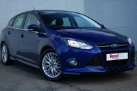 USED 2014 14 FORD FOCUS 1.6 ZETEC S S/S 5d AUTO 124 BHP PEARL PAINT + FULL HISTORY