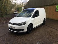 USED 2012 62 VOLKSWAGEN CADDY 1.6 C20 TDI 102 5d 101 BHP BLACK ROOF, NEW 18 INCH WHEELS CARBON SPILTERS,  BLACK ROOF, CARBON BODYKIT, NEW 18 INCH WHEELS, SEAT UPGRADE,