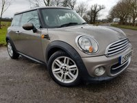 USED 2012 61 MINI HATCH 1.6 COOPER D 3d CHILLI PACK & EXTRAS