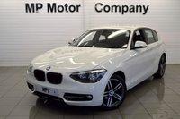 2015 BMW 1 SERIES 2.0 116D SPORT 5d 114 BHP £10695.00