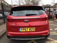 "USED 2017 67 KIA SPORTAGE 1.7 CRDI GT-LINE EDITION ISG 5d 114 BHP STUNNING INFA RED METALLIC. FULL BLACK/GREY LEATHER UPHOLSTERY. SATELLITE NAVIGATION. 19"" POLISHED ALLOY WHEELS. HEATED ELECTRIC FRONT SEATS. FRONT AND REAR PARKING SENSORS. SIDE STEPS. CRUISE CONTROL. AIR CONDITIONING. JBL SOUND SYSTEM. ROOF RAILS. PLEASE GOTO www.lowcostmotorcompany.co.uk  TO VIEW OVER 120 CARS IN STOCK SOME OF THE CHEAPEST ON AUTOTRADER."