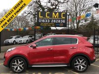 """USED 2017 67 KIA SPORTAGE 1.7 CRDI GT-LINE EDITION ISG 5d 114 BHP STUNNING INFA RED METALLIC. FULL BLACK/GREY LEATHER UPHOLSTERY. SATELLITE NAVIGATION. 19"""" POLISHED ALLOY WHEELS. HEATED ELECTRIC FRONT SEATS. FRONT AND REAR PARKING SENSORS. SIDE STEPS. CRUISE CONTROL. AIR CONDITIONING. JBL SOUND SYSTEM. ROOF RAILS. PLEASE GOTO www.lowcostmotorcompany.co.uk  TO VIEW OVER 120 CARS IN STOCK SOME OF THE CHEAPEST ON AUTOTRADER."""