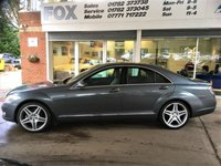USED 2008 08 MERCEDES-BENZ S CLASS 3.0 S320 CDI 4d 231 BHP MERCEDES-BENZ S CLASS 3.0 S320 CDI 4d 231 BHP