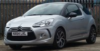 2014 CITROEN DS3 1.6 E-HDI DSTYLE PLUS 3d 90 BHP £5651.00