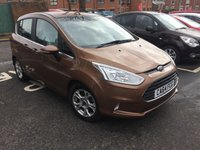 USED 2015 64 FORD B-MAX 1.4 ZETEC 5d 89 BHP CHEAP TO RUN AND GOOD SPECIFICATION WITH ALLOY WHEELS , AIR CONDITIONING , FRONT HEATED WINDSCREEN AND ALLOY WHEELS!!..FULL FORD SERVICE HISTORY!.ONLY 5706 MILES FROM NEW!!