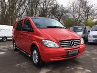 USED 2008 57 MERCEDES-BENZ VITO 3.0 120 CDI DUALINER AUTOMATIC LWB Automatic, 5 Seat Dualiner, Air Conditioning