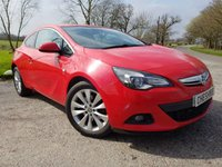 USED 2013 13 VAUXHALL ASTRA GTC 2.0 GTC SRI CDTI S/S 3d LOTS OF OF EXTRAS
