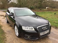 USED 2010 60 AUDI A6 2.0 AVANT TDI S LINE SPECIAL EDITION 5d AUTO 168 BHP Low Mileage, S/History, Auto