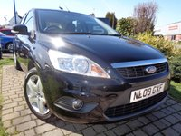 USED 2009 09 FORD FOCUS 1.6 STYLE 5d 100 BHP **Full Ford Service History 8 Stamps 12 Months Mot**