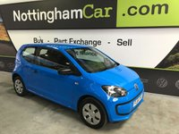 2014 VOLKSWAGEN UP 1.0 TAKE UP 3d 59 BHP £4295.00