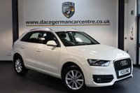 USED 2013 13 AUDI Q3 2.0 TDI SE 5DR 138 BHP + SAT NAV + AIR CONDITIONING + 17 INCH ALLOY WHEELS +