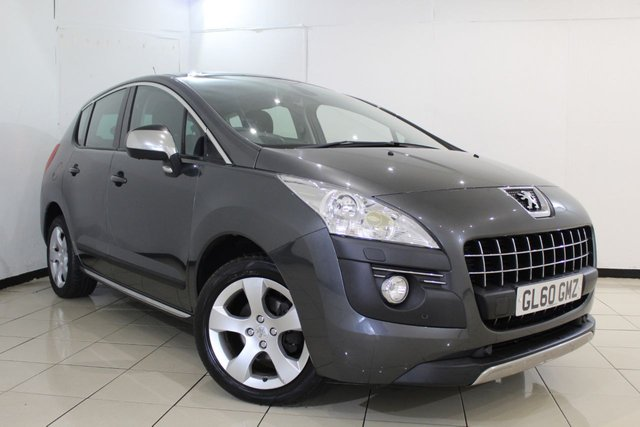 View our 2011 60 PEUGEOT 3008 1.6 EXCLUSIVE HDI 5DR 112 BHP