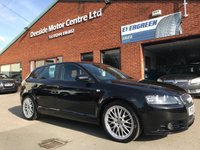 USED 2008 08 AUDI A3 2.0 T FSI QUATTRO S LINE 5d 197 BHP Audi Concert sound system, S-Line embossed leather upholstery,      S-Line steering wheel
