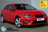 USED 2013 63 SEAT LEON 1.8 TSI FR TECHNOLOGY DSG 3d AUTO 180 BHP SATNAV+WINTER PACK+SEAT SOUND