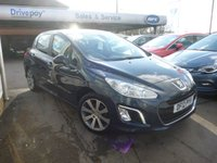 USED 2012 12 PEUGEOT 308 1.6 E-HDI ACTIVE 5d 112 BHP